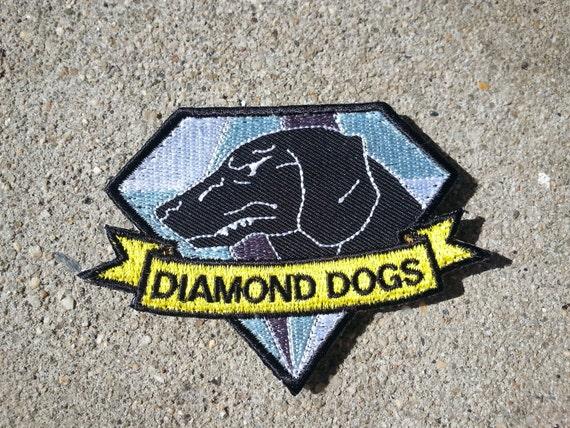 Diamond Dog Iron Patch as Seen