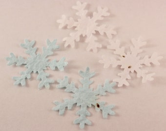 Snowflake plantable confetti (large) plantable paper, eco friendly wedding table decorations or Christmas decor