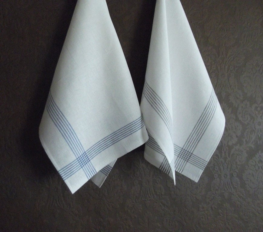 White Kitchen Towel: White Tea Towels Perfect Dish Towels In Your Kitchen By