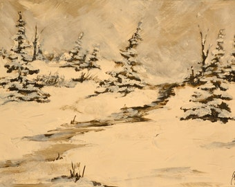 SALE 50% - Winter scene 2