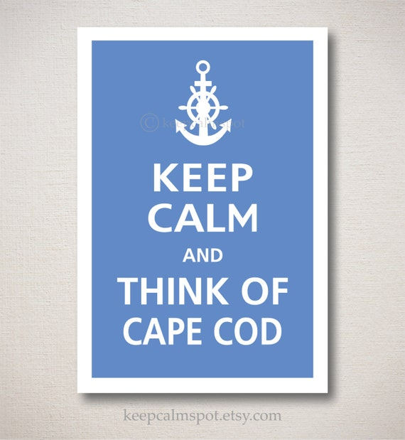 Items Similar To Customizable THINK Of CAPE COD (choose