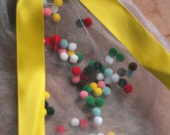 Pom Pom Tutu - Yellow