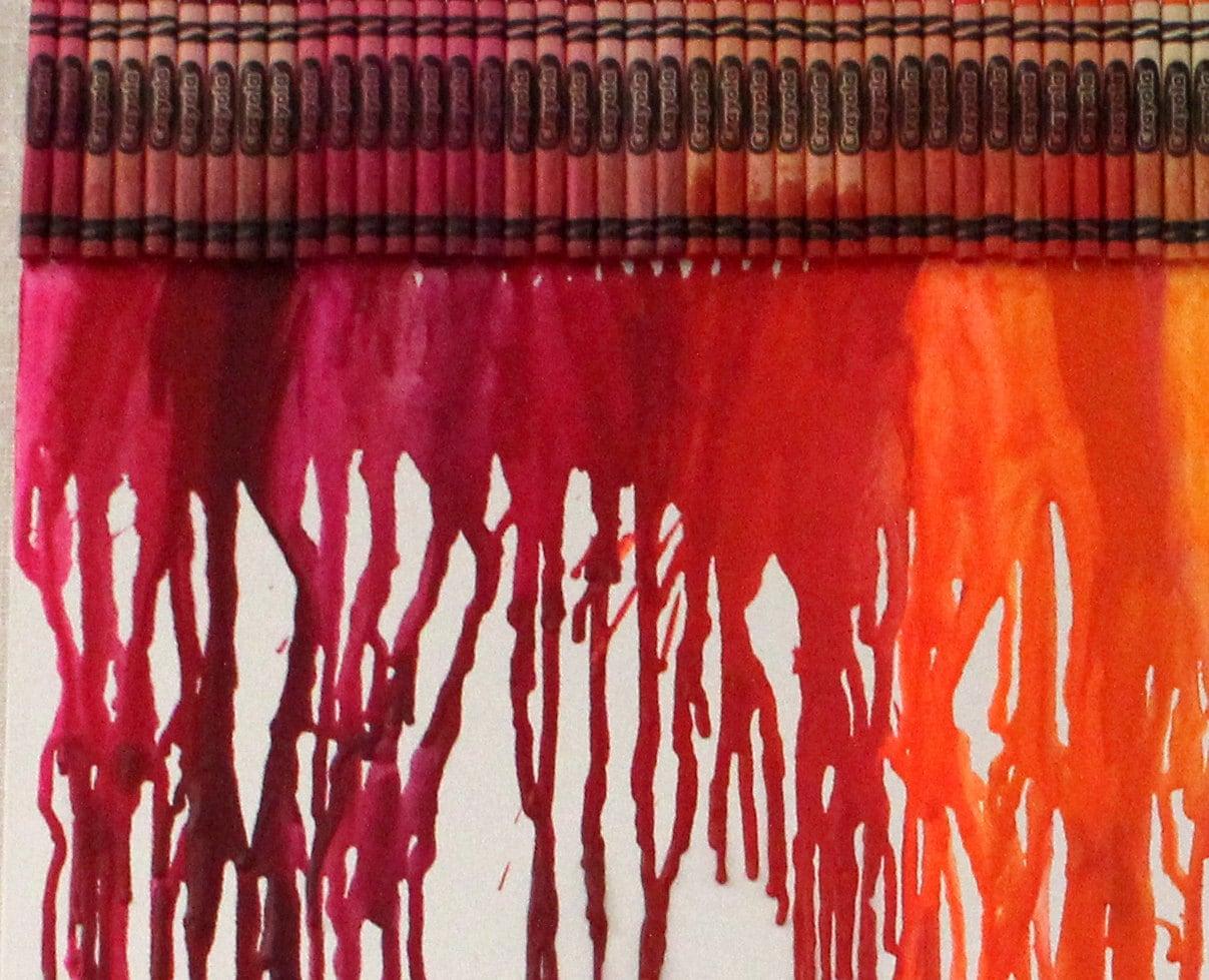 Crayons from Etsy Artist Crayonvas