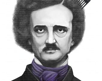 "Printable Wall art "" Edgar Allen Poe """