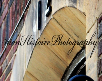 Brick Building, Abstract Photography