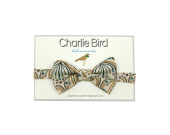 Bow tie for Kids Charlie Bird Liberty of London