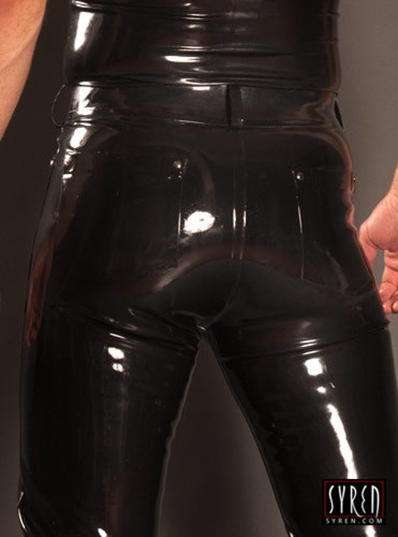 Rubber Men S Jeans Syren Latex Fetish Fashion