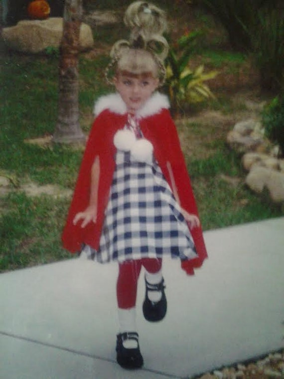Items Similar To Girls Cindy Lou Who Costume The Grinch