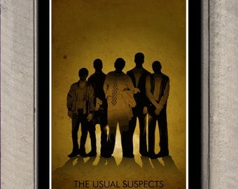 The Usual Suspects Inspired - Movie Art Poster