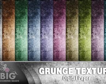 Vintage grunge DIGITAL backgrounds - 10 printable images