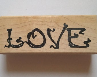 Love Rubber Stamp - 186W03