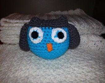 Small Amigurumi Crochet Owls