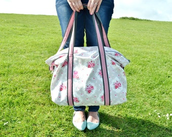 Tilly Bag weekend / overnight bag / large holdall SEWING PATTERN