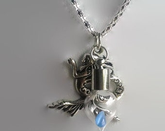 Mermaid's Tear Necklace Navy Stupid Pirates of the Caribbean