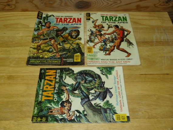 Tarzan of The Apes Book Tarzan of The Apes Vintage
