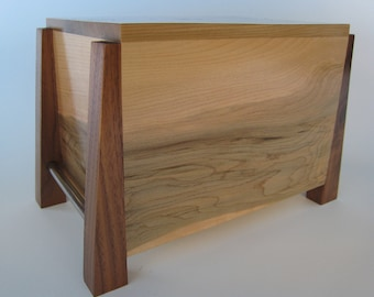Modern Cremation Urn Made to Order by Studio 1212 Furniture
