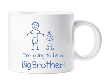 Big Brither Kids Mug Smug Im Going To Be A Big Brother Gift Idea Childrens New Baby Present Pregnant