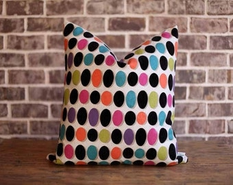 Bright Geometric Designer Pillow Cover