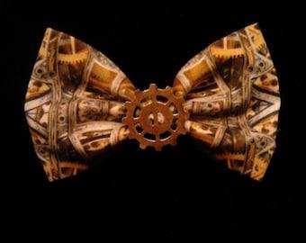 Steampunk Gear Hair Bow