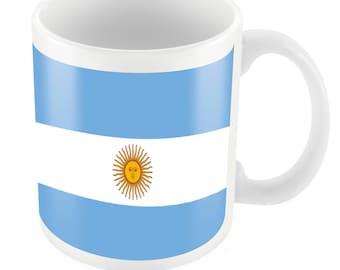 Argentina Road To World Cup Ceramic Mug Gift Birthday Present Novelty Brasil 2014