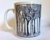 Forest Illustrated Mug