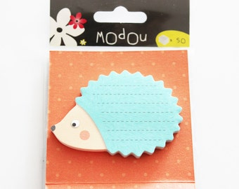 sticky notes hedgehog