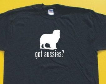 Got Australian Shepherd?  Short Sleeve T-Shirt. w/FREE matching sticker!