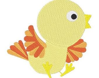 Bird Machine Embroidery Design, Bird Design, Bird Embroidery, 4X4 5X7 6X10, Instant download
