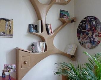 popular items for murale arbre on etsy. Black Bedroom Furniture Sets. Home Design Ideas