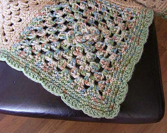 The Muted Granny Afghan
