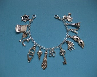 Charm Bracelet, 50 Fifty shades of Grey Inspired