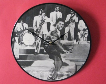 "Little Richard 12""/lp  picture disc clock"