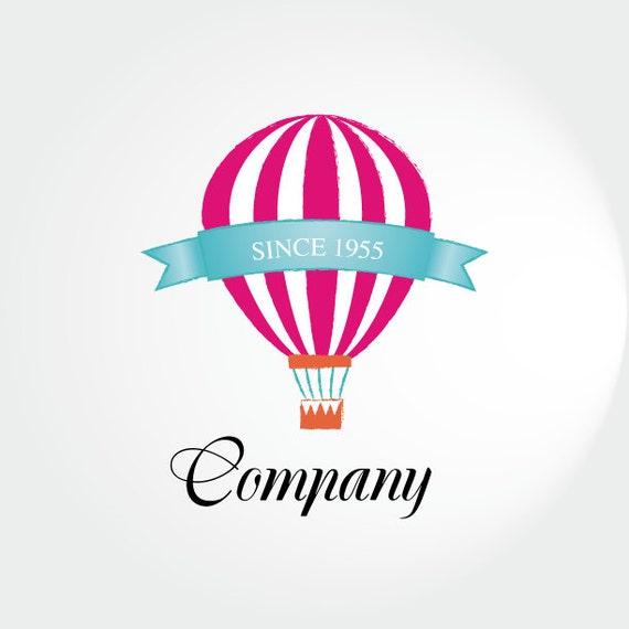 Items Similar To Hot Air Balloon Logo Custom Photography