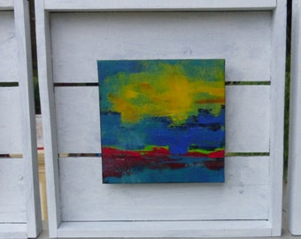 Cape Town painting (Triptych)