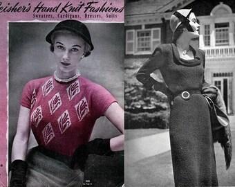 Fleisher's Vol. 88 Hand Knit Fashions 1950