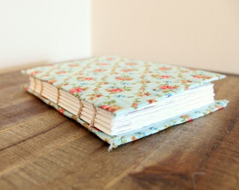 Hand Bound Journal/Sketchbook--Handmade Notebook