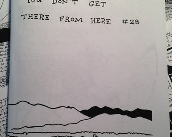 You Don't Get There From Here #28 (daily diary comics by Carrie McNinch)