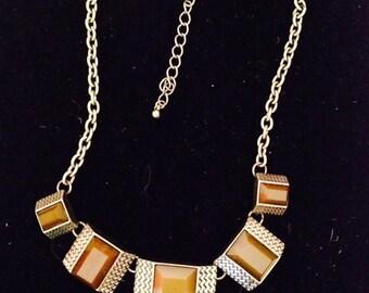 Vintage Copper choker.  Copper necklace.  Copper bib necklace.  Copper statement necklace. TBFB0067