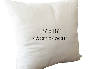 """18""""x18"""" Pillow Inserts - ONLY for pillow covers purchased in my shop"""