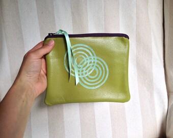 Leather wallet - size medium