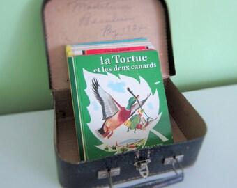Fables de Lafontaine by Romain Simon - Vintage French Children Book