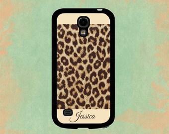 Monogram Galaxy S5 Case Leopard Cheetah Galaxy Case Samsung Galaxy Note 2 Case Galaxy S4 Case Galaxy S5 Case Galaxy Note 3 Case