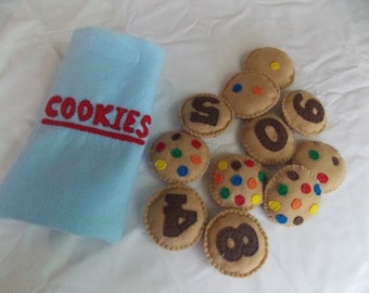 Felt Counting Cookies