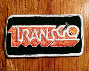 Vintage 1980's Transgo Transmission Shift Kits Embroidered Uniform Patch Rare!
