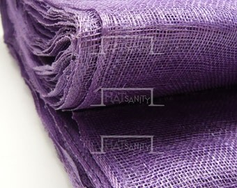 Machining Colored SINAMAY Materials Cloth Fabric DIY 90 cm x 100 cm - Purple