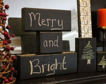 Chalkboard Message Blocks - Customize-able, Stack-able, Adorable!