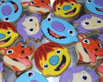 Wallykazam sugar cookies