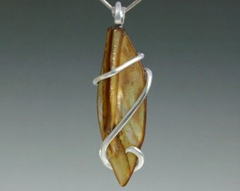 Shell Cold Forged Pendant