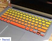 Macbook decal Macbook Sticker Macbook Keyboard Decal Macbook Pro Keyboard Skin Macbook Air Sticker Apple Wireless Keyboard Skin Macbook Case
