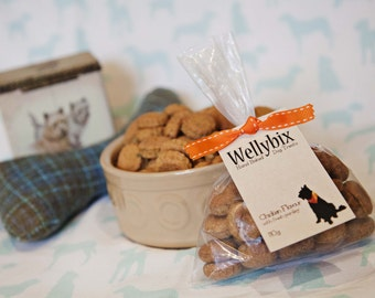 Artisan Hand Baked Healthy Chicken with Thyme Dog Treats, Freshly Baked to Order.